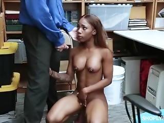 Black Girl Caught Stealing