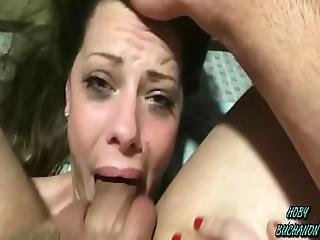 Step Daughter Takes A Choking Slapping Rough Skull Fuck For Father S Day Full Shoot