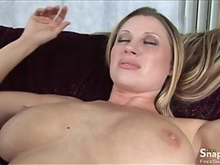 Superb Milf Takes A Fat Chock Up Her Cunt