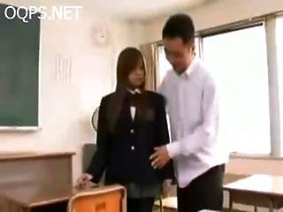 Japanese Schoolgril Fuck After Class Crotchless From Http Alljapanese.net
