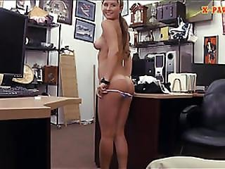 Lovely Waitress Banged By Horny Pawn Man At The Pawnshop