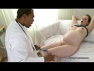 sort, brunette, kneppe, interracial, brystvorte, preggo