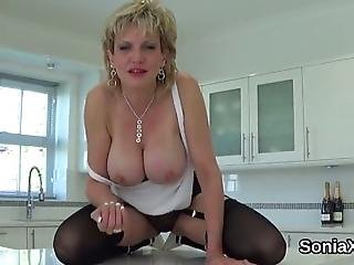 Bigtitted Bisexual Wife Lady Sonia Plays With Her Huge Boobs And Rubs Soft Vagina In Lingerie