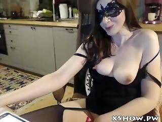Gorgeous Hot Mommy Orgasm On Webcam Show