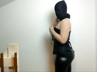 Latex Nylon Encsement Lady