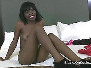 Perky Black Loves Toys And Cocks