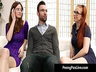 Nerdy Girls Penny Pax And Jay Taylor Get Banged By Alex Legend