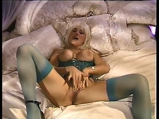 Lusty Lonely Blonde Masturbates At Home Alone Using Fingers And Toys?s=4