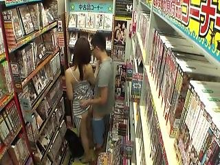 Naughty Chinese Housewife Gives The Wanking Inside Public Inside Xxx Shop