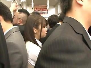 Schoolgirls Crowded Train Fantasy - Part 4 (mrbob)