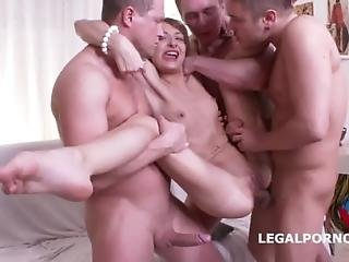 Ball Deep Junkies. Lola Shain Get Sbanged In Every Hole By The New Russian Team. Dp Anal Gapes Raw D