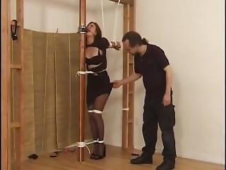 Woman At Pole