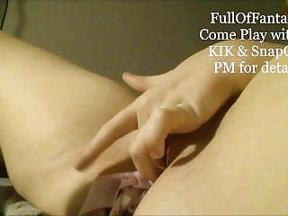Play With Me In Kik & Snapchat Panty Stuffing & Fetish Compilation #10