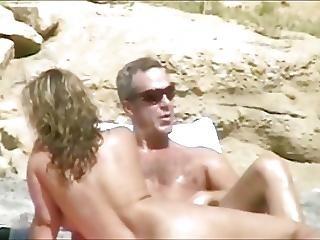 Plaża, Masturbacja, Nago, Nudystka, Na Dworze, Publicznie