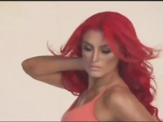 Eva Marie - Muscle & Fitness Cover Shoot 2014