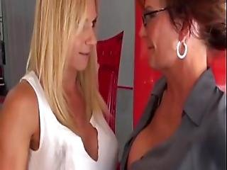 Auto Shop Lesbian Hookup