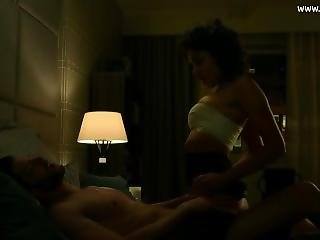 Amber Rose Revah - Naughty Sex Scene, Bare Latina Butt - The Punisher S01e0