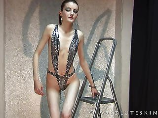 Beautiful Models With Extreme Thin And Bony Bodies