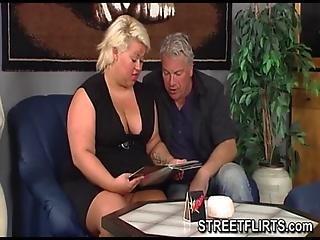 Bbw German Fat Blonde