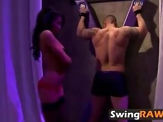 Swingers Having Orgy After Night Out In Reality Show