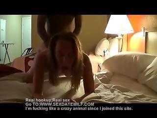 Milf Enjoying A Younger Cock