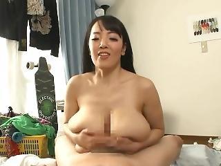 아시아의, 큰 가슴, 편집, 사정, 빌어 먹을, 일본의, AV 여배우, POV, 짹 섹스