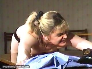 Naked Caning