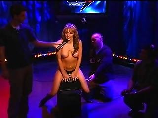 Howard Stern - Charlie Laine Rides The Sybian