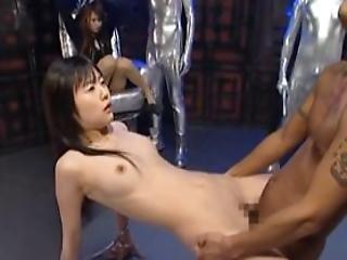 Little Japanese Slaves Sucking Dick On Knees