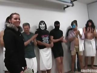 Czech Gangbang 9