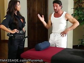 Fantasymassage Officer August Taylor Shows Up At Tommy Gunn�s Place