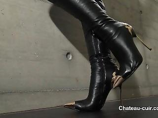 Leather Boots Joi