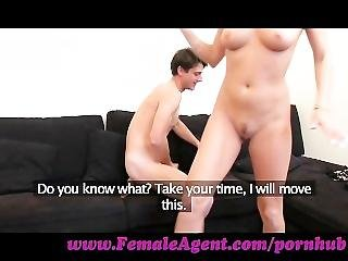 Femaleagent. Erection Issues For Stud