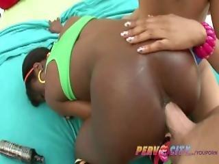 Pervcity Ebony Teens Anal Threesome Ana Foxxx And Yasmine De Leon