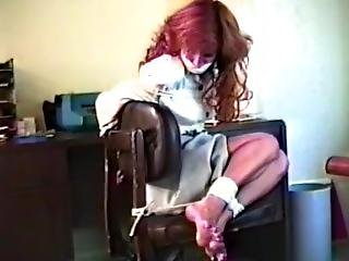 Girl Tied To Chair