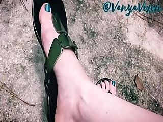 Vanya Vixen Foot Fetish Teaser