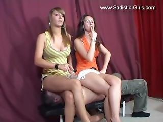 Keira & Nicole Facesitting 1