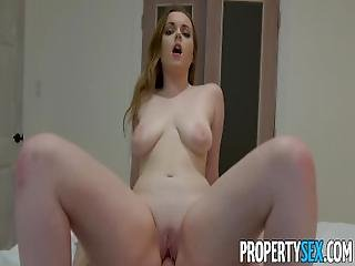 Propertysex   Tenant With Big Natural Tits Fucks Her Roommate