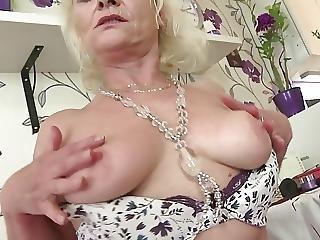 So Old But Still Hot Horny Grandma