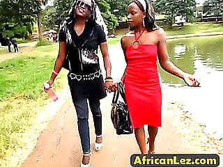 Wow!menacing How To Please African Cum-hole And Booty?threatening Those African Lesbian Babes Will Show U.threatening Hd Porn Clips