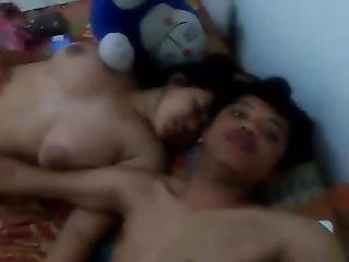 Indonesian Teen Couple Big Tits