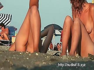 Naked Bodies Naked Boobs And Pussy In This Nude Beach Video