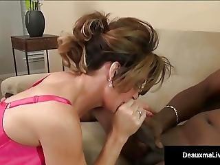 Milf Boss Deauxma Can T Fire Her Best Worker S Black Cock