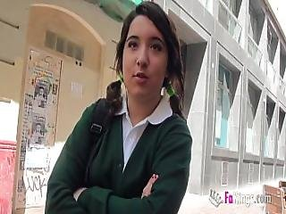 Jordi El Nino Polla And 18yo Small Titted Schoolgirl Fuck Hard