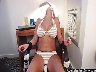 She Can T Escape And Has To Cum
