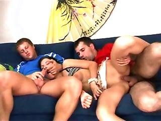 Russian Melody Threesome Sleeping