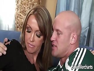 Milf Pornstar Fucks And Eats Cum