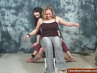 Zeraphin And Stefanie Facesitting #2