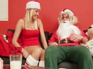 Naughty Santas Helper Vanessa Cage