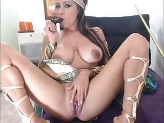 Nagy Mell, Mell, Barna, Cosplay, Maszturbáció, Webcam